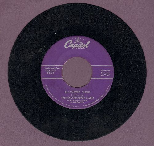 Ford, Tennessee Ernie - Blackeyed Susie/Code Of The Mountains - VG7/ - 45 rpm Records