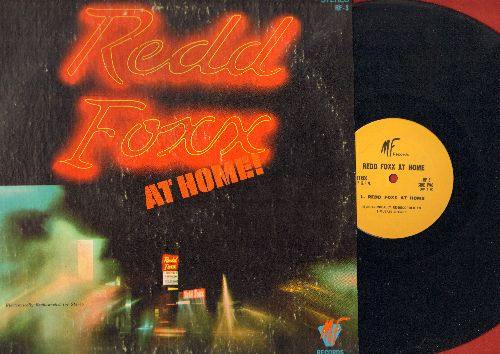 Foxx, Redd - Redd Foxx At Home! (vinyl LP record) - EX8/VG7 - LP Records