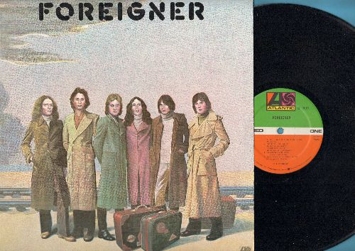 Foreigner - Foreigner: Feels Like The First Time, Cold As Ice, I Need You (vinyl STEREO LP record) (REISSUE) - NM9/NM9 - LP Records