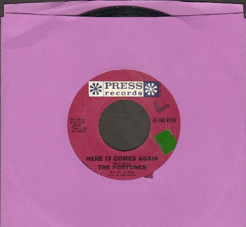 Fortunes - Here It Comes Again/Things I Should Have Known (sol) - NM9/ - 45 rpm Records