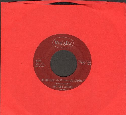 Four Seasons - Little Boy (In Grown Up Clothes)/Silver Wings (burgundy label) - NM9/ - 45 rpm Records