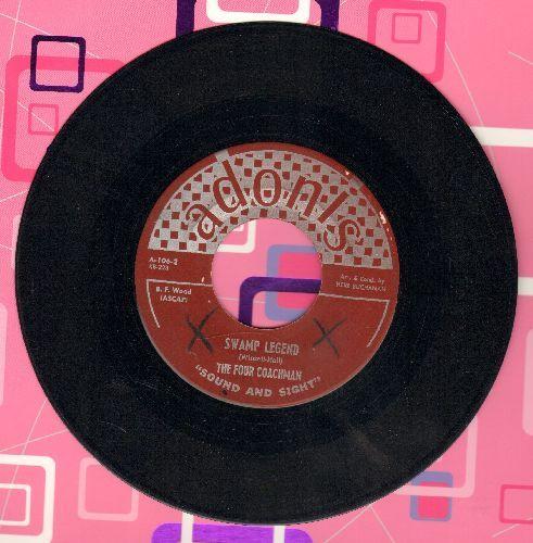 Four Coachmen - Swamp Legend/Shalom - VG7/ - 45 rpm Records