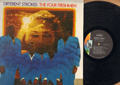Four Freshmen - Different Strokes: It's Not Unusual, Ob-La-Di Ob-La-Da, Cry Like A Baby, Hey Jude, Put A Little Love In Your Heart (vinyl STEREO LP record) - NM9/EX8 - LP Records