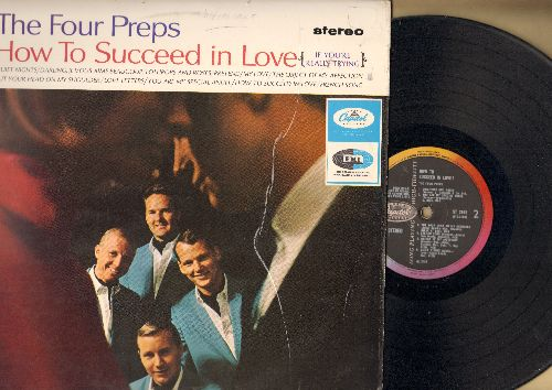 Four Preps - How To Succeed In Love: Lollipos And Roses, You Are My Special Angel, Put Your Head On My Shoulder, Pretend (vinyl STEREO LP record, British Pressing) - NM9/EX8 - LP Records