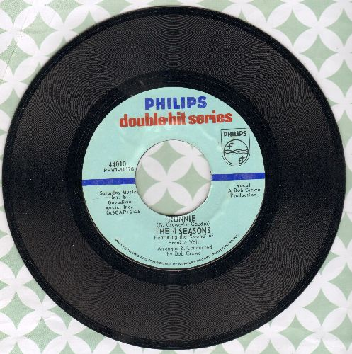 Four Seasons - Ronnie/Rag Doll (double-hit re-issue) - NM9/ - 45 rpm Records