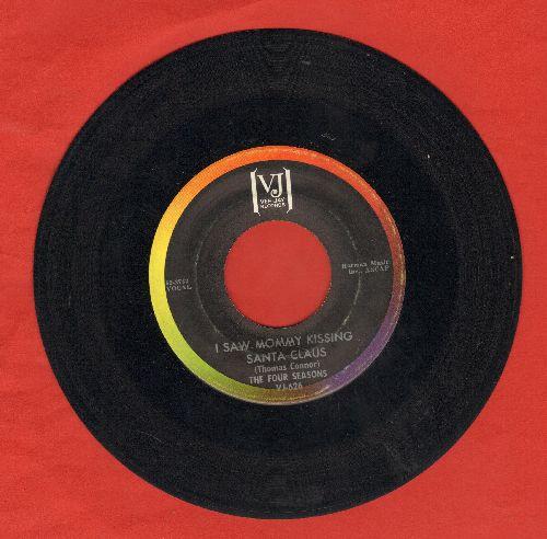 Four Seasons - I Saw Mommy Kissing Santa Claus/Christmas Tears - EX8/ - 45 rpm Records