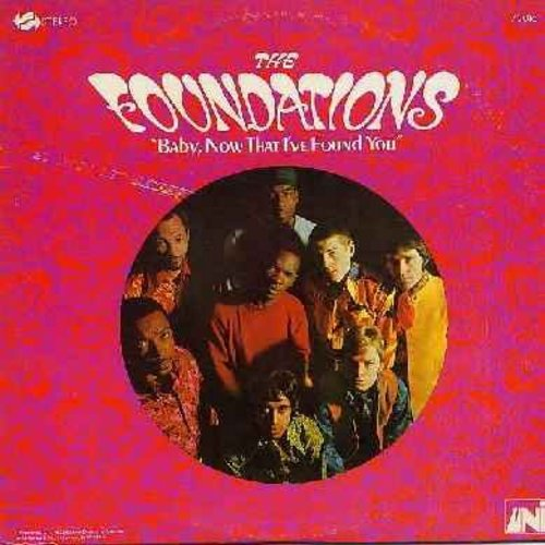 Foundations - Baby, Now That I've Found You: Jerking The Dog, Call Me, Mr. Personality Man, Come On Back To Me (vinyl STEREO LP record) - EX8/VG7 - LP Records