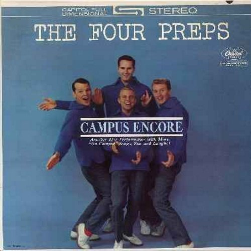 Four Preps - Campus Encore: Come To The Dance, Heartaches, The Mountain's High, Love Is A Many Splendored Thing, Moon River (vinyl STEREO LP record, NICE condition!) - M10/NM9 - LP Records