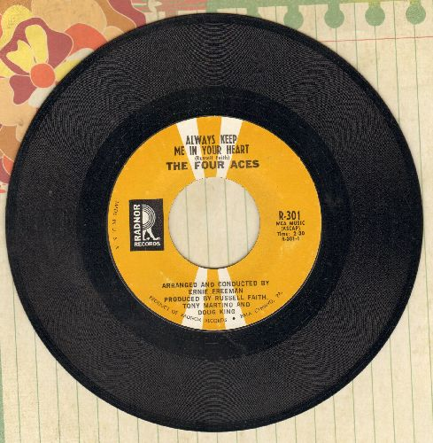 Four Aces - Always Keep Me In Your Heart/Didn't We - NM9/ - 45 rpm Records