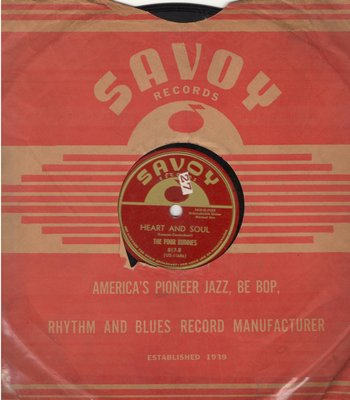 Four Buddies - Heart And Soul/Sin (RARE 10 inch 78rpm record) - EX8/ - 78 rpm