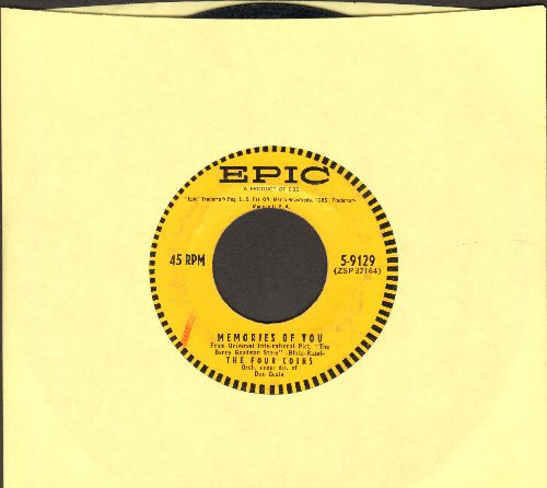 Four Coins - Memories Of You/Tear Down The Fence - EX8/ - 45 rpm Records