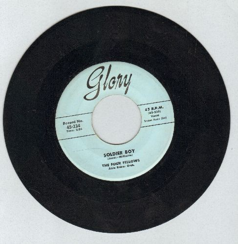 Four Fellows - Soldier Boy/Take Me Back, Baby - NM9/ - 45 rpm Records
