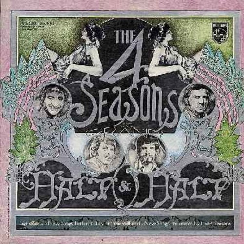 Four Seasons - Half & Half: Emily, And That Reminds Me, Patch Of Blue, Any Day Now--Oh Happy Day (Medley) (vinyl STEREO LP record, gate-fold cover) - EX8/EX8 - LP Records