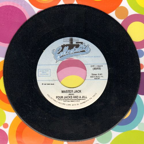 Four Jacks & A Jill - Master Jack/Mister Nico (double-hit re-issue) - NM9/ - 45 rpm Records