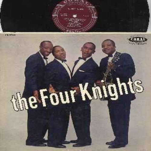 Four Knights - The Four Knights: When Your Love Has Gone, My Buddy, Yes I Do (The Wedding Song), The One Rose, If You Ever Change Your Mind, The Four Minute Mile, Zig Zag (vinyl MONO LP record, burgundy label first issue) - EX8/EX8 - LP Records