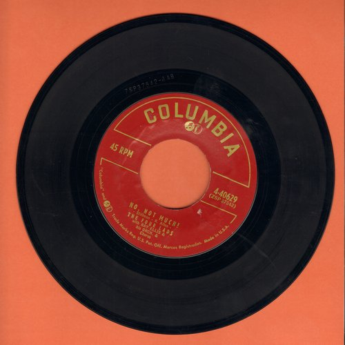 Four Lads - No, Not Much!/I'll Never Know - EX8/ - 45 rpm Records