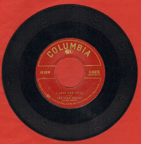 Four Voices - I Love You Still/Sentimental - EX8/ - 45 rpm Records