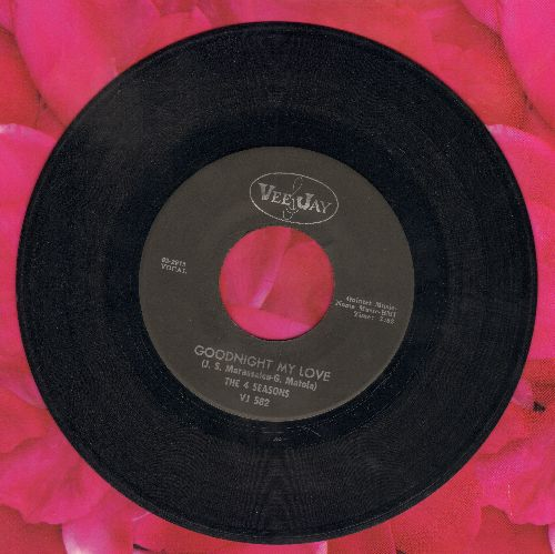 Four Seasons - Stay/Goodnight My Love - EX8/ - 45 rpm Records