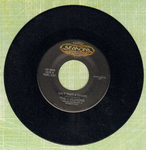 Four Seasons - Ain't That A Shame/Marlena (double-hit re-issue) - NM9/ - 45 rpm Records
