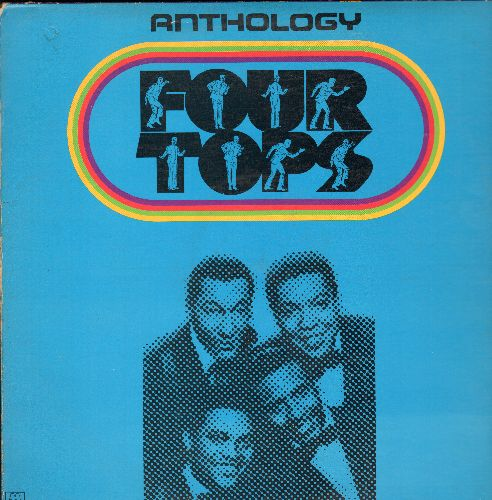 Four Tops - Anthology: Baby I Need Your Loving, I Can't Help Myself, Reach Out I'll Be There, A Place In The Sun, Walk Away Renee (3 vinyl LP records, gate-fold cover) - NM9/VG7 - LP Records