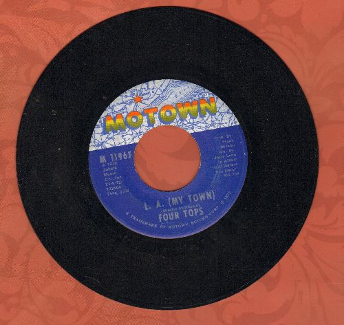 Four Tops - L. A. (My Town)/A Simple Game - NM9/ - 45 rpm Records