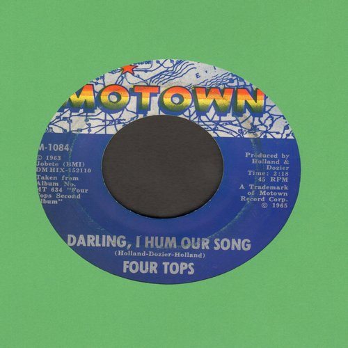 Four Tops - Darling, I Hum Our Song/Something About You (bb) - VG7/ - 45 rpm Records
