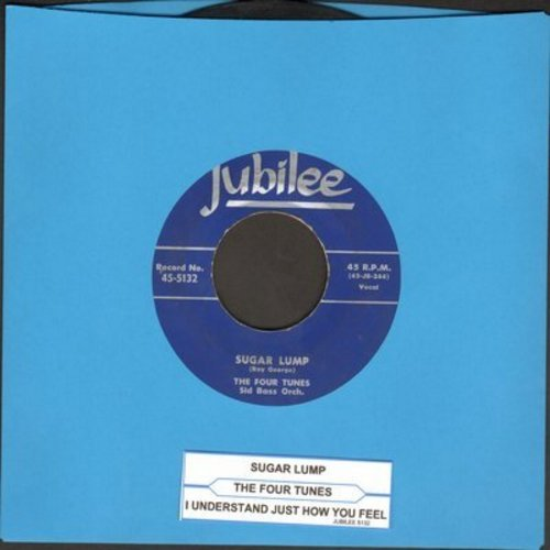 Four Tunes - Sugar Lump/I Understand Just How You Feel (with juke box label) - EX8/ - 45 rpm Records