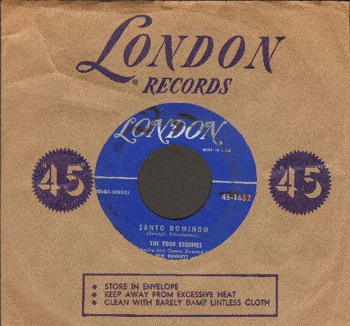 Four Esquires - Santo Domingo/Look Homeward Angel (with vintage London company sleeve) (wol) - VG7/ - 45 rpm Records