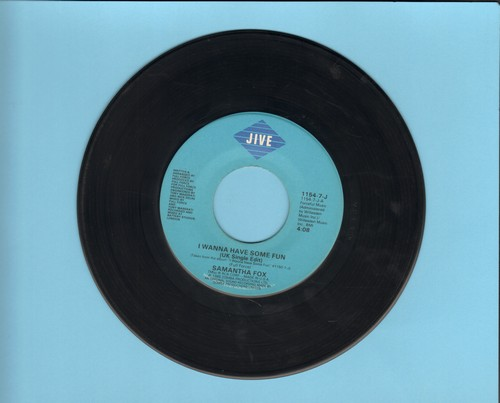 Fox, Samantha - I Wanna Have Some Fun/Don't Cheat On Me  - EX8/ - 45 rpm Records