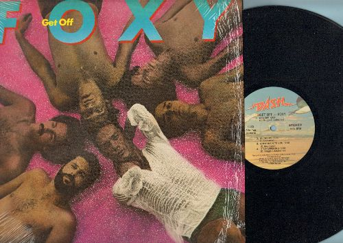 Foxy - Get Off: Tena's Song, Ready For Love, Mademoiselle, Lucky Me, It's Happening (vinyl STEREO LP record, MINT condition vinyl with shrink wrap on cover!)) - NM9/NM9 - LP Records