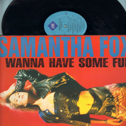 Fox, Samantha - I Wanna Have Some Fun: I Only Wanna Be With You, One In A Million, Confession, You Started Something (vinyl STEREO LP record) - NM9/NM9 - LP Records