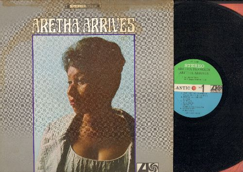Franklin, Aretha - Aretha Arrives: Satisfaction, You Are My Sunshine, 96 Tears, Baby I Love You (vinyl STEREO LP record) - VG7/VG6 - LP Records