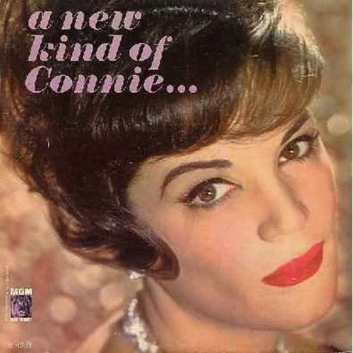 Francis, Connie - A New Kind Of Connie: More, Ma (He's Making Eyes At Me), I've Got A Crush On New York Town, Like Someone In Love (vinyl MONO LP record) - NM9/EX8 - LP Records