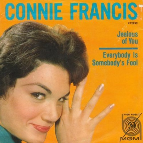 Francis, Connie - Jealous Heart (Blaue Nacht am Hafen)/Can I Rely On You  - EX8/ - 45 rpm Records