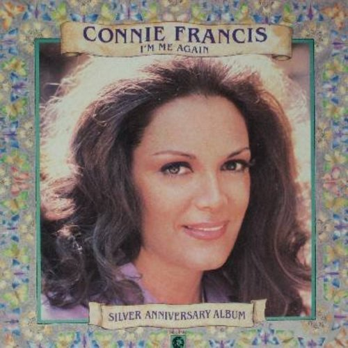 Francis, Connie - I'm Me Again - Silver Anniversary Album: Where The Boys Are, Don't Break The Heart That Loves You, My Happiness, Cry (vinyl STEREO LP record, DJ advance pressing) - M10/EX8 - LP Records