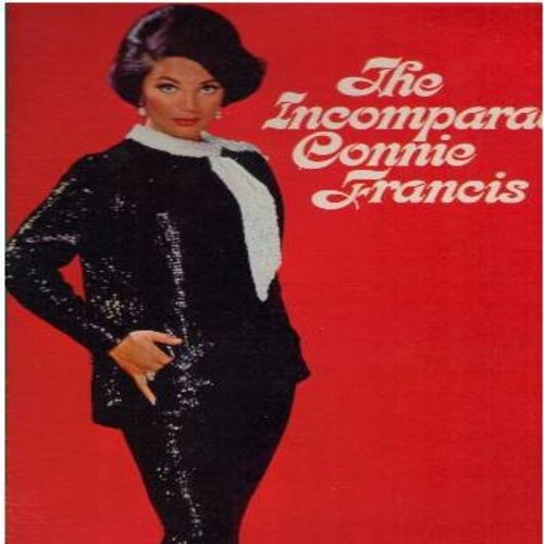Francis, Connie - The Incomparable Connie Francis: Looking For Love, Funiculi Funicula, Italian Lullaby, La Paloma, Be My Love, Try A Little Tenderness (vinyl MONO LP record) - M10/NM9 - LP Records