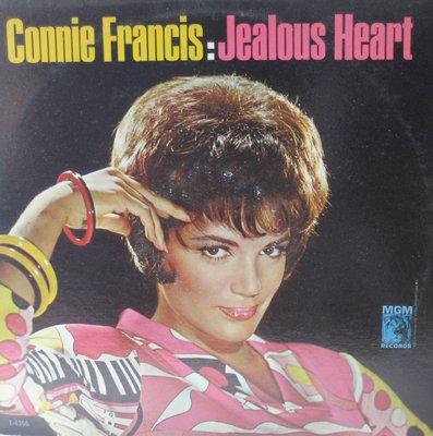 Francis, Connie - Jealous Heart: Ivory Tower, My Foolish Heart, So Long Good Bye (vinyl MONO LP record) - EX8/EX8 - LP Records