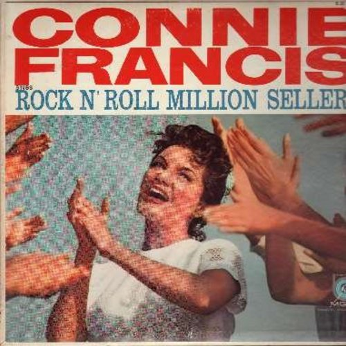 Connie S Corner: Connie Francis Rock 'n' Roll Million Sellers Records, LPs