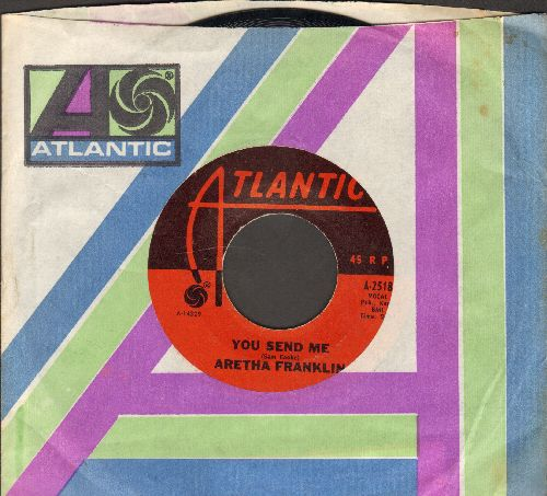 Franklin, Aretha - You Made Me Love You/There Is No Greater Love (with Columbia company sleeve, wol) - NM9/ - 45 rpm Records