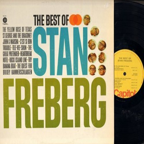 Freberg, Stan - Best Of: John And Marsha, St. George And The Dragonet, C'est Si Bon, Heartbreak Hotel (vinyl STEREO LP record, 1970s issue of vintage recordings) - M10/EX8 - LP Records