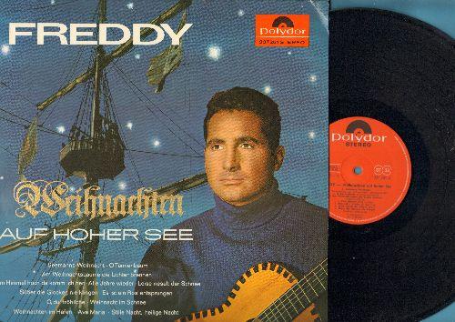 Freddy (Quinn) - Auf hoher See: Nimm mich mit Kapitan auf die Reise, La Paloma, Heimweh nach St. Pauli (German Pressing, sung in German) - NM9/NM9 - LP Records