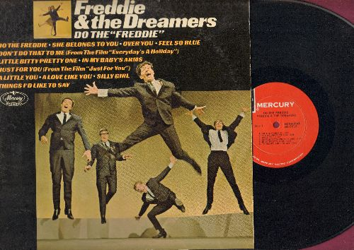 Freddie & The Dreamers - Do The Freddie: Just For You, Things I'd Like To Say, Silly Girl, Little Bitty Pretty One, In My Baby's Arms, A Love Like You (vinyl MONO LP record - Dance steps instructing you how to Do The Freddie on back of cover!) - NM9/EX8 -