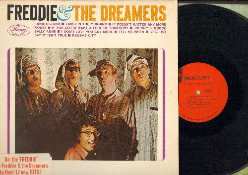 Freddie & The Dreamers - Freddie & The Dreamers: I Understand, Tell Me When, It Doesn't Matter Anymore, Short Shorts, Zip-A-Dee-Doo-Dah, What'd I Say, See You Later Alligator (vinyl MONO LP record) - NM9/EX8 - LP Records