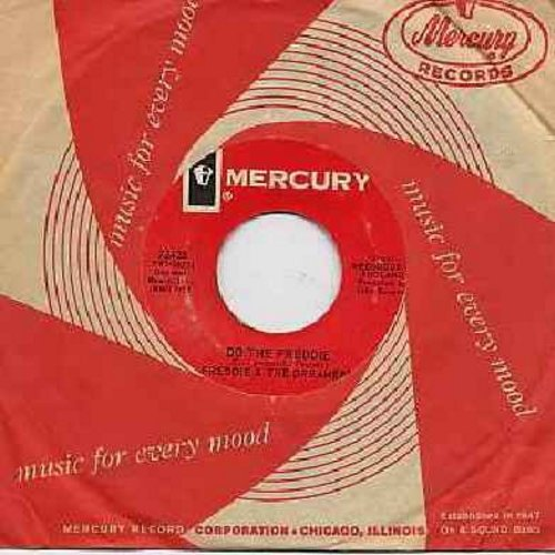 Freddie & The Dreamers - Do The Freddie/A Love Like You (RARE alternate flips-side, with Mercury company sleeve) - M10/ - 45 rpm Records