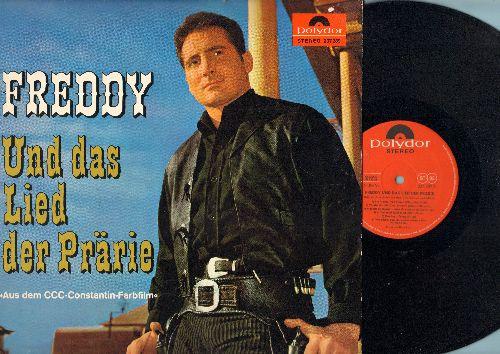 Freddy (Quinn) - Freddy und das Lied der Prarie - Original Motion Picture Sound Track (vinyl STEREO LP record, German Pressing, sung in German) - NM9/NM9 - LP Records