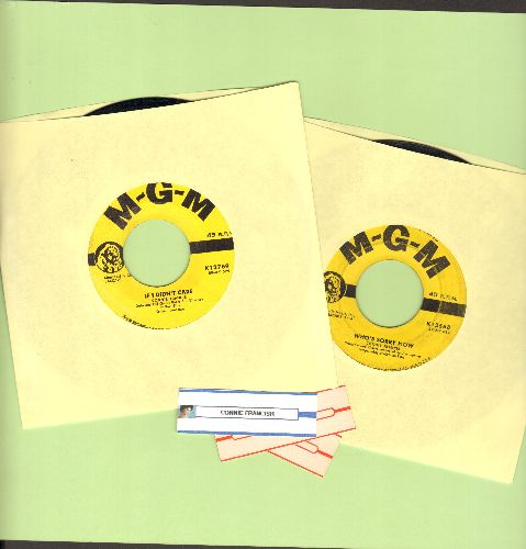 Francis, Connie - 2 for 1 Special: Who's Sorry Now/If I Didn't Care (2 vintage first issue 45rpm records with juke box labels for the price of 1!) - EX8/ - 45 rpm Records