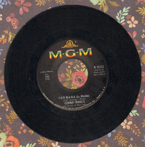 Francis, Connie - For Mama (La Mamma)/She'll Be Comin' 'Round The Mountain - EX8/ - 45 rpm Records