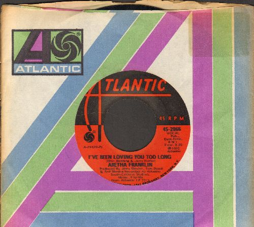 Franklin, Aretha - I've Been Loving You Too Long/Day Dreaming (with Atlantic company sleeve) - NM9/ - 45 rpm Records