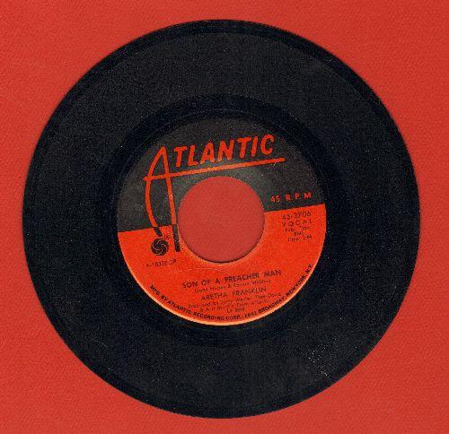 Franklin, Aretha - Son Of A Preacher Man/Call Me  - EX8/ - 45 rpm Records