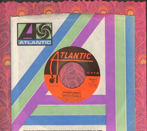 Franklin, Aretha - Spanish Harlem/Lean On Me - EX8/ - 45 rpm Records